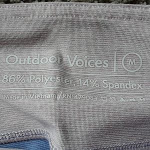 Outdoor Voices Pants - NWT  Outdoor Voices  7/8 Springs  Leggings.  Mediu